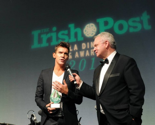 "Джонатан Риз-Майерс на ""The Irish Post Awards"""