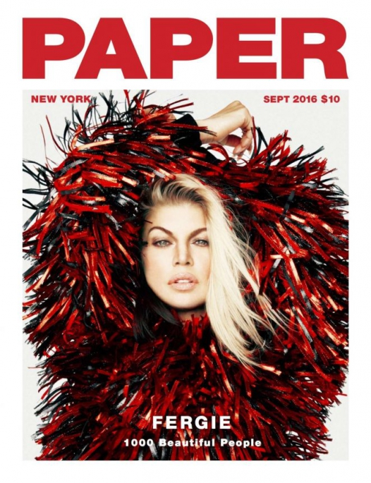 Stacy Ferguson – Paper Magazine