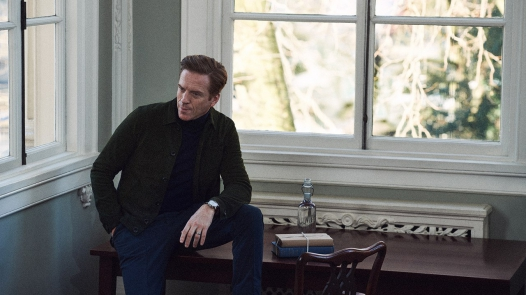 Damian Lewis  for Mr Porter, Pedro Pascal for Solar,  Mads Mikkelsen