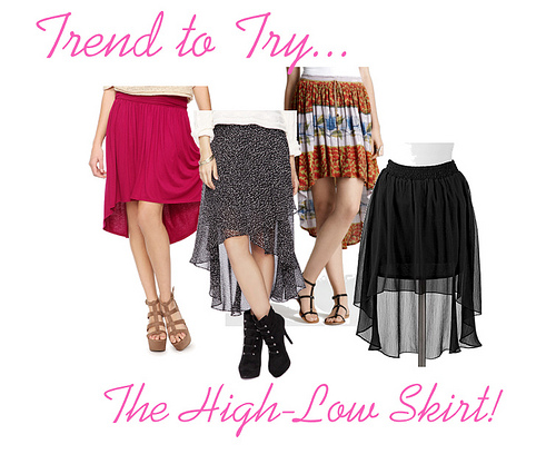 High-Low Skirts