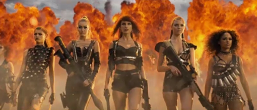 Taylor Swift's 'Bad Blood' Video Premieres