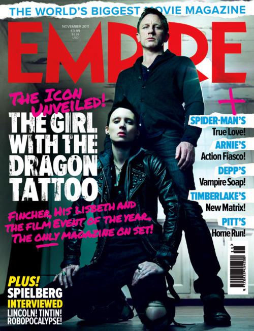"""The Girl with the Dragon Tattoo"" Дэвида Финчера:новые кадры"