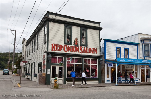 Red Onion Saloon на Аляске