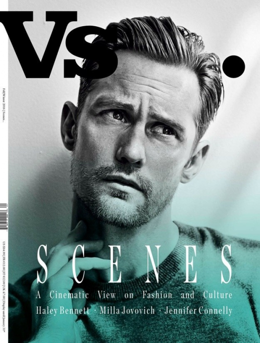 Alexander Skarsgård for Vs. Magazine