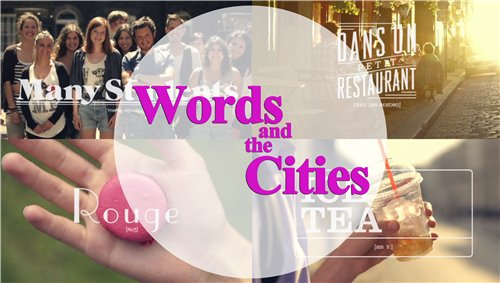 Words and the Cities