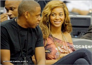 Beyonce &Jay-z Nets Game