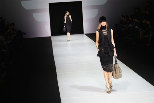Armani: Milan Fashion Week