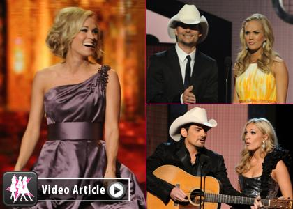 Наряды Кэрри Андервуд на Country Music Awards 2010