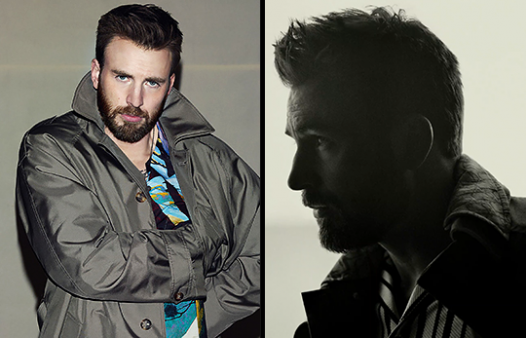 Chris Evans for Esquire April/May 2020