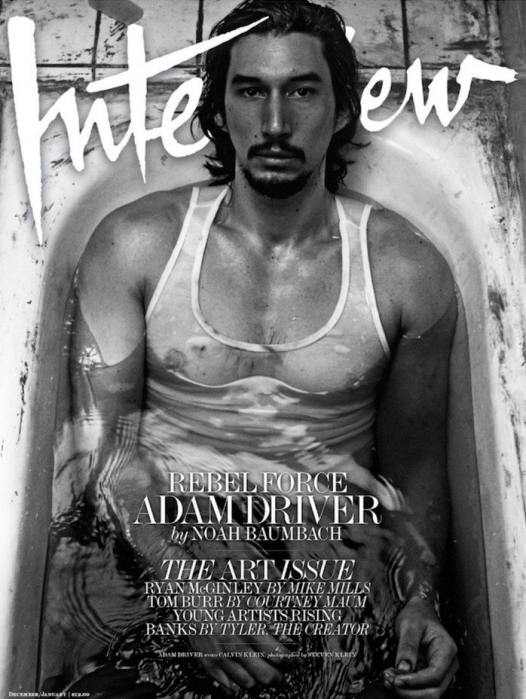 Adam Driver for Interview, December 2016/January 2017