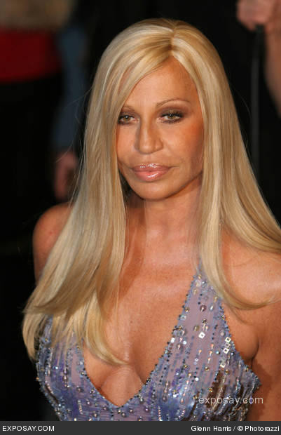 Donatella Versace: the way she used to be .....( foto)