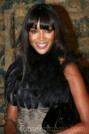 Naomi Campbell at Lincoln Center.