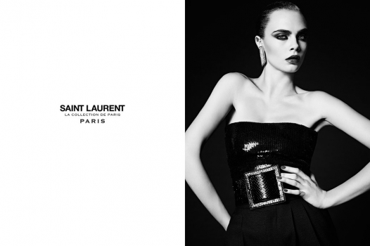 SAINT LAURENT'S LA COLLECTION DE PARIS