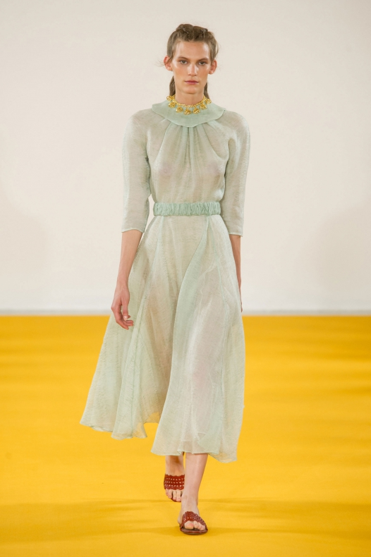 Emilia Wickstead ready-to-wear, весна/лето 2017