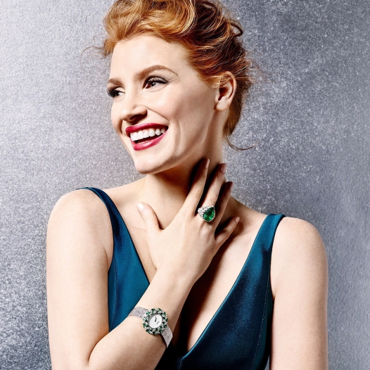 Jessica Chastain for Extremely Piaget — 2016