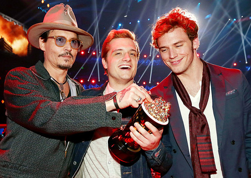 Tribute News : MTV Movie Awards-2014. Голодные Игры.
