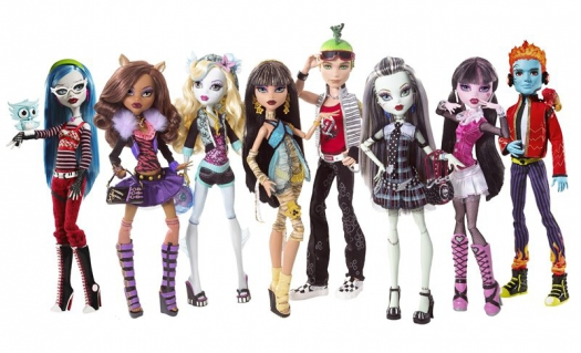 Антибарби: куклы Monster High