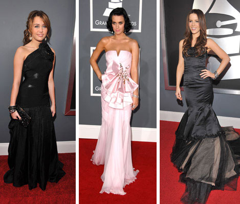 Best dressed 2009: Red carpet (Часть 1)