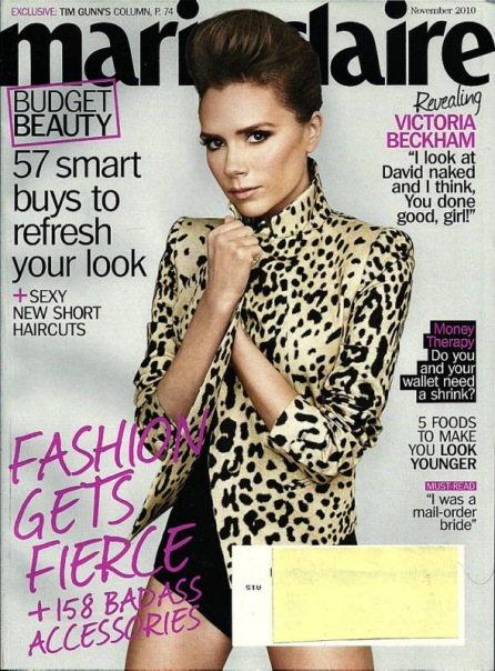 US Marie Claire November 2010