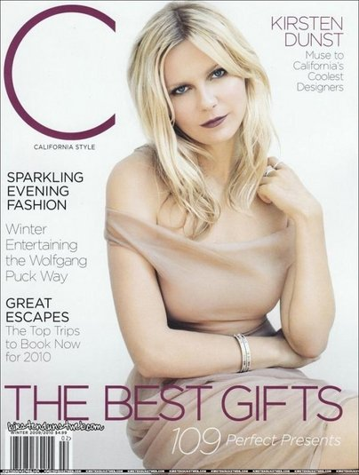 Kirsten Dunst  California Style Magazine Winter 2009/2010