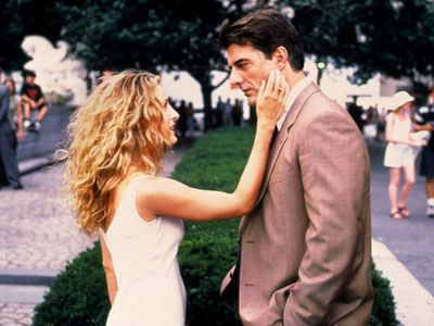 Carrie Bradshaw and Mr.Big