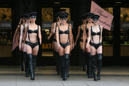 Celebrities in Agent Provocateur