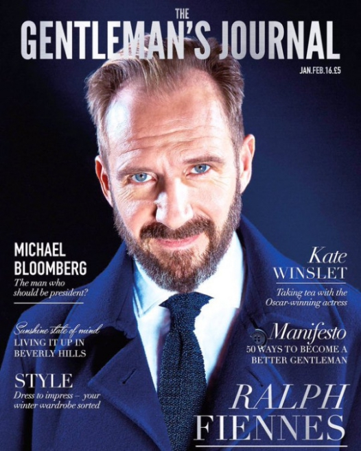 Рэйф Файнс для Gentleman's Journal