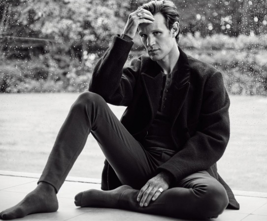 Matt Smith for Esquire UK, December 2016. Alexander Skarsgård for Dior