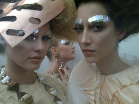 Backstage | Paris Fashion Week Autumn/Winter 2011