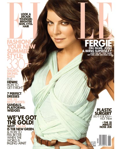 "Fergie on ""ELLE"" magazine"