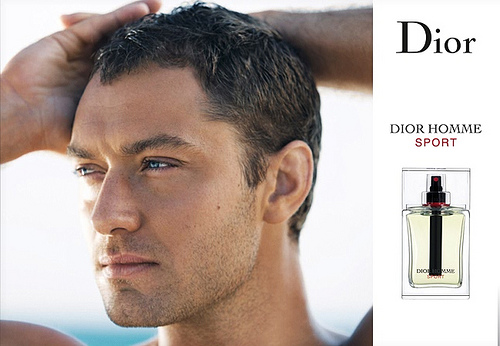 Jude Law в рекламе Dior aftershave