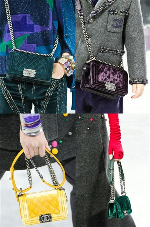 Chanel Velvet Boy Bag