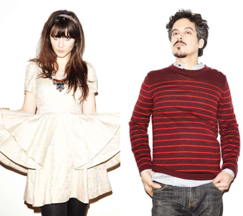 She and Him в ION Magazine