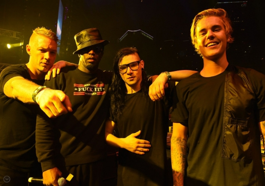 "Skrillex and Diplo - ""Where Are Ü Now"" with Justin Bieber"