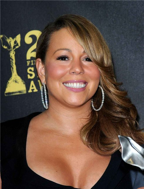 Mariah Carey at the 25th Film Independent 's Spirit Awards