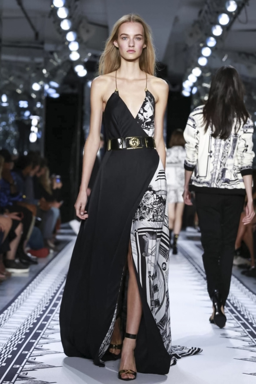 Versace и Herve Leger Fashion Show. Два показа в рамках NYFW