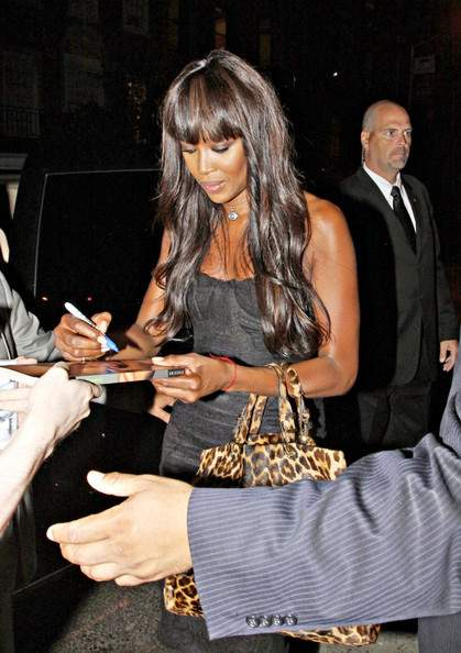 Naomi Campbell at Fashion Night Out