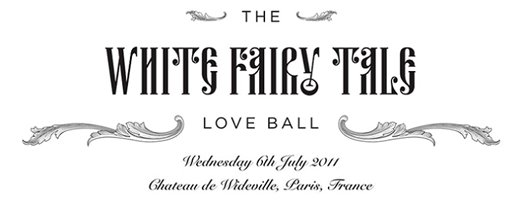 The White Fairy Tale Love Ball