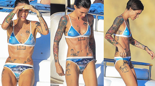 Ruby Rose. Why so thin?