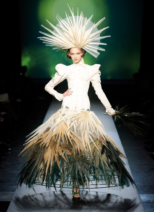 JEAN PAUL GAULTIER COUTURE ВЕСНА-ЛЕТО 2010