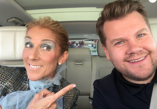 Селин Дион Carpool karaoke OVP