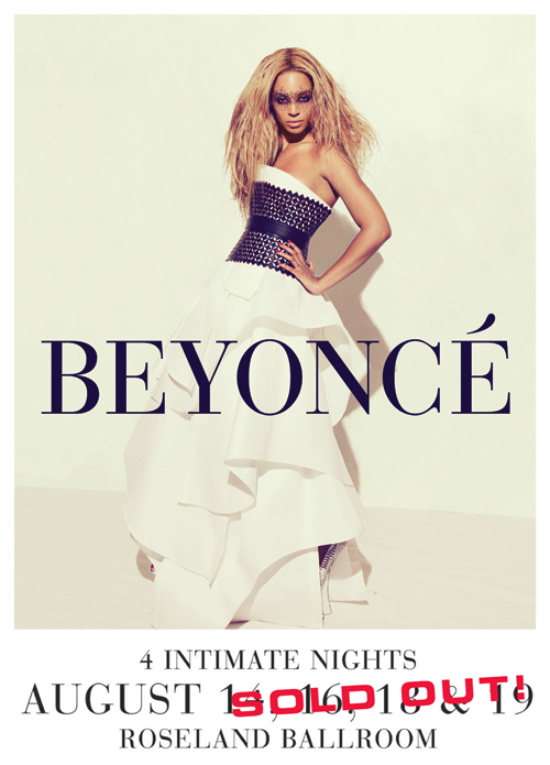 Beyonce: First Intimate Night