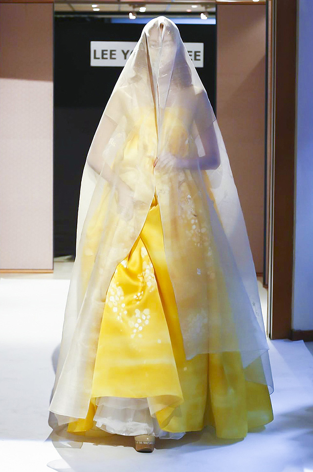 Lee Young Hee Couture осень-зима 2016-2017