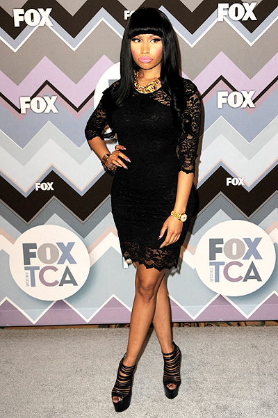 Ники Минаж на FOX All-Star Party, январь 2013-го