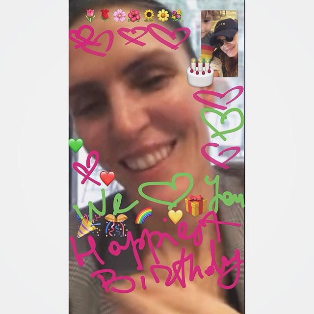 This postcard was prepared for you with love by your daughter in law    Happiest Birthday to the best person in the world     @gabrielahearst we love you to the   and back