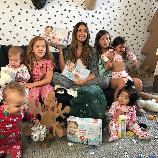 Chaos ensued during our LIVE @Honest Winter Diaper reveal  -got my Honor and Havie to help   . This is the first seasonal collection my little nugget will be in ! Check out my Live Stories to see it all go down and comment below on your favorite pattern!