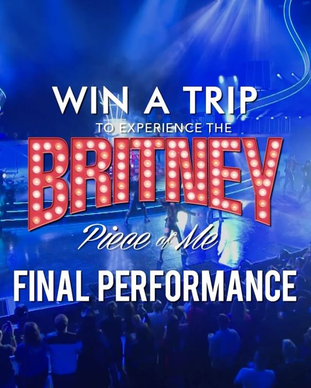 Support the LSBA for your chance to win a trip to hangout with me in Vegas and see the final #PieceOfMe show on #NYE! *link in bio*