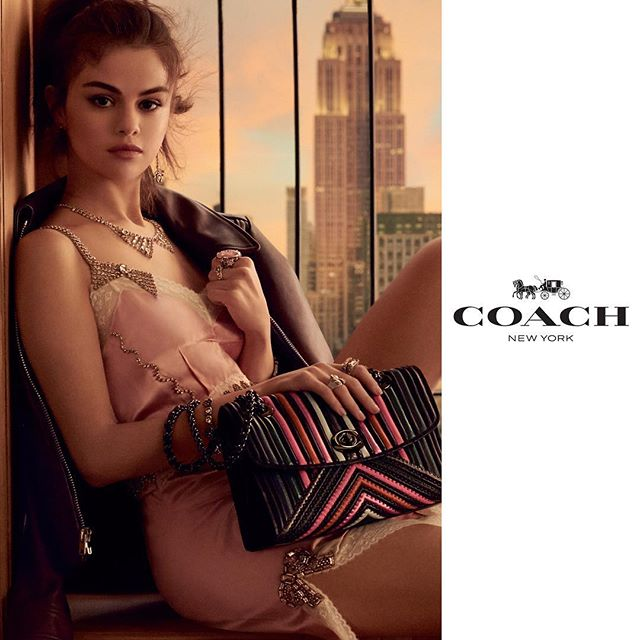 A New Year s first just for you guys- I m so excited to reveal my new @Coach campaign. #CoachSS18 #CoachNY