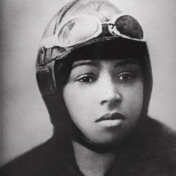 Such an inspiration    Bessie Coleman, the first female African American pilot! A true pioneer!! So amazed by her and her incredible accomplishments   #BlackHERstory