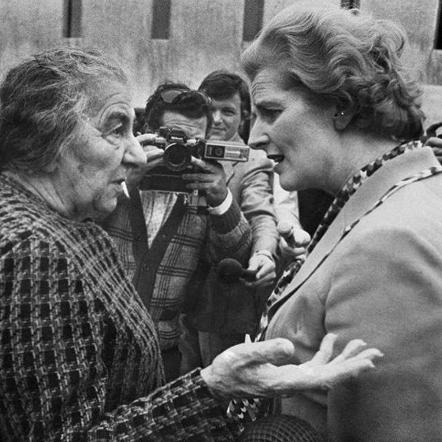 #internationalwomensday Here is to the two Iron Ladies, Golda Meir and Margaret Thatcher, no need for introduction.